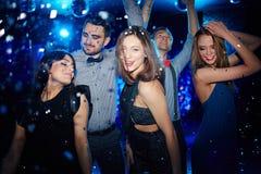 Amis de danse Photo libre de droits