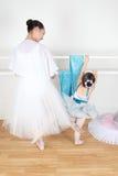 Amis de danse Photographie stock