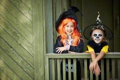 Amis de Halloween Photo stock