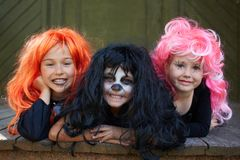 Amis de Halloween Image libre de droits