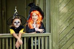 Amis de Halloween Photos libres de droits