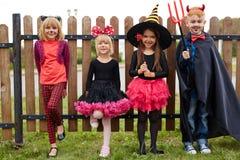 Amis de Halloween Photographie stock libre de droits