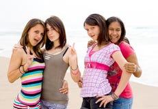 Amis de l'adolescence Photos stock
