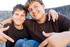 Amis de l'adolescence Image libre de droits