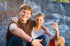 Amis de l'adolescence Photo libre de droits