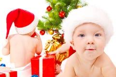 Amis de Noël Photographie stock