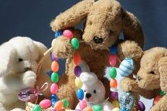Amis de Pâques Photos stock