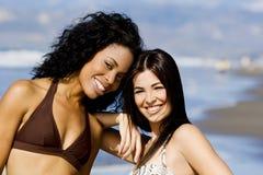 amis de plage Photographie stock