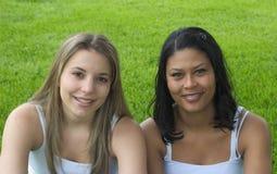 Amis de sourire Image libre de droits