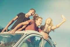 Amis des vacances Photographie stock libre de droits