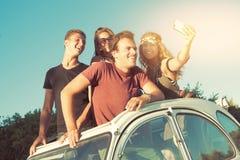 Amis des vacances Photo libre de droits