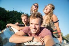 Amis des vacances Images stock