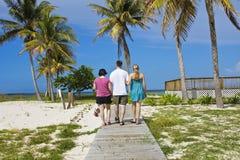 Amis des vacances Images libres de droits