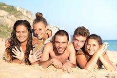 Amis en été Photographie stock
