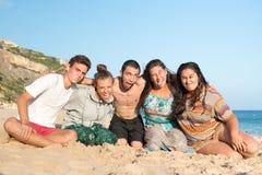 Amis en été Photo libre de droits