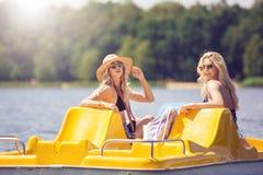 Amis en vacances Photographie stock