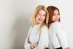 amis ensemble deux jeunes Image libre de droits