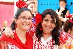 Amis espagnols, Marbella, Espagne. Photos libres de droits
