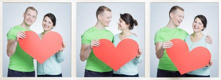 Amis et amants Image stock