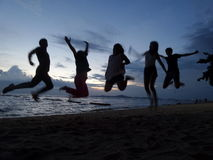 Amis et amitié Photographie stock libre de droits