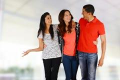 Amis et famille Image libre de droits