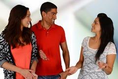Amis et famille Photo libre de droits
