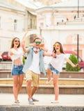amis extérieur Photographie stock