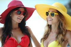 Amis féminins des vacances Photo stock