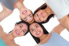 Amis heureux Photos stock
