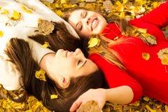 Amis heureux Photos libres de droits