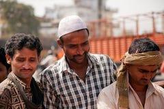 Amis indiens heureux Photos libres de droits