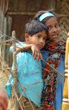 Amis intimes au Bangladesh du sud Photographie stock