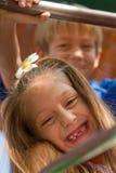 Amis mignons de petits enfants Photos libres de droits