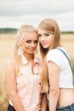 Amis mignons et heureux Photographie stock