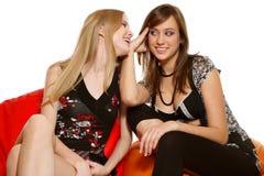 Amis riants Image libre de droits