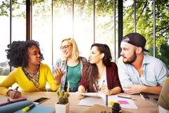 Amis Team Brainstorming Community Concept de diversité Photo libre de droits