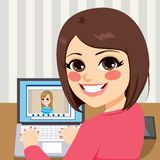 Amis visuels d'appel illustration stock