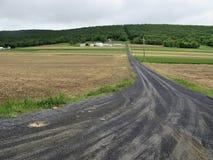 Amische Bauernhöfe Stockbild