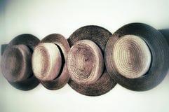 Amische Hüte lizenzfreies stockfoto