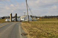 Amischer Bauernhof Stockfotos