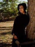Amisches Mädchen Lizenzfreies Stockbild