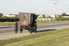 багги amish стоковая фотография