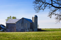 Amish Barn Royalty Free Stock Images