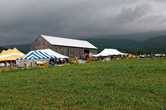 Amish Benefit Auction in Pennsylvania Royalty Free Stock Photo