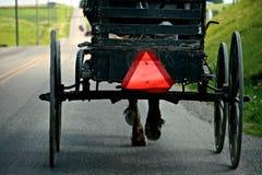 Amish Buggie Arkivbild