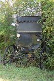 amish buggy royaltyfria bilder