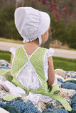 Amish child Royalty Free Stock Photo