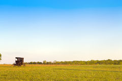 Amish Country. With Blue Sky Stock Photography
