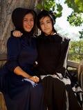 Amish dziewczyny Zdjęcia Royalty Free