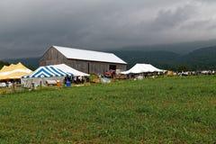 Amish fördelauktion i Pennsylvania Royaltyfri Foto
